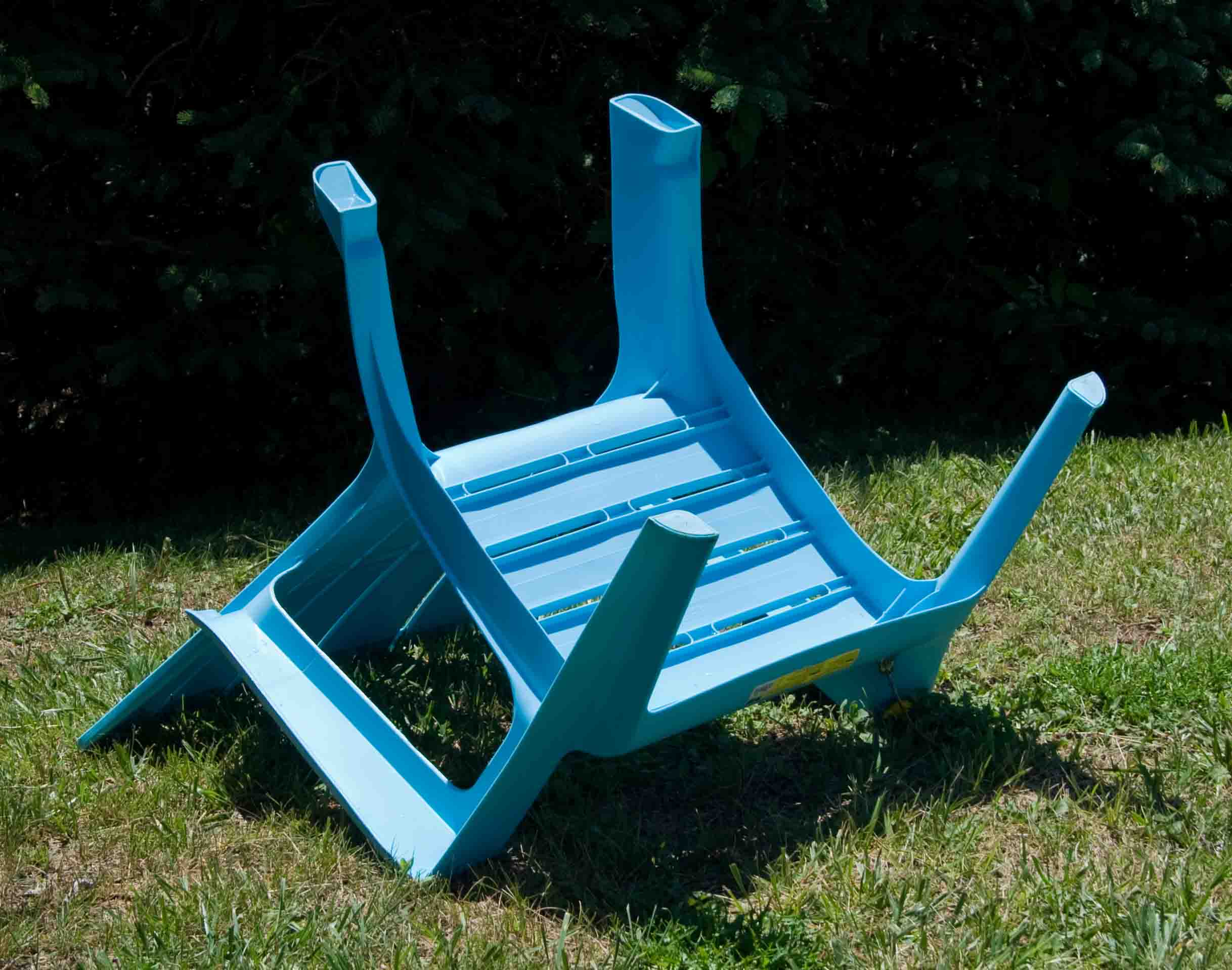 Plastic Adirondack Chair — So Wrong